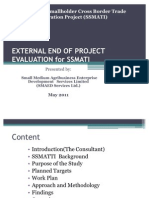 External End of Project Evaluation for.pptx-may 2011- Draft