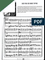Bach Para Dos Manos Tapping
