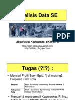 Slide II - Analisis Data Surv Epid - 9 Juni 11