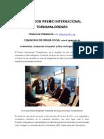 Tornsanlorenzo - Trabajos Premiados - Final