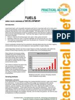 Liquid Biofuels