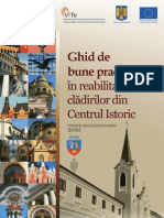Ghid de Bune Practici in area Centrului Istoric Oradea