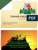 Training Teknik Presentasi