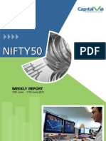 Nifty 50 Reports for the Week (13th - 17th June '11)