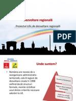 Proiectul USL Privind Dezvoltarea Regionala