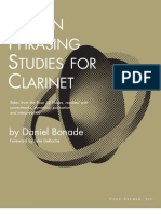24942317 16 Phrasing Studies Clarinet Taken From the C Rose 32 Etudes Reedited by Daniel Bonade Leblanc Source