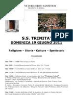 Festa della Trinità 2011