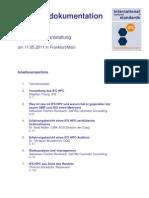 Tagungsdokumentation IFS HPC Informationsveranstaltung 11052011