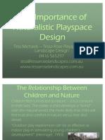 Natural Playspace Design