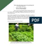 The Irrefutable Evidence of the FAO