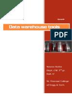 Datawarehouse tools