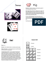 Dice Games Booklet