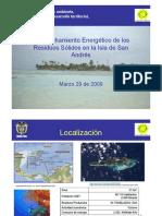 Aprovechamiento Energético de los Residuos Sólidos en la Isla de San Andrés