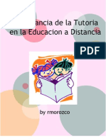 Import an CIA de La Tutoria en La Educacion a Distancia