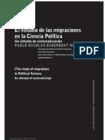 1. El Estudio de Las Migraciones en La Ciencia Politica