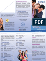 Brochure of the Canadian College of Online Training