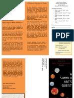 Summer Quest Brochure