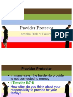 Provider Protector and the Risk of Failure