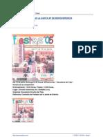 Programa Fiestas Polígono de Toledo 2005