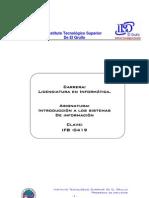 Introduccion a Los Sistemas de ion IFB-0419