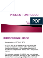 Project on HUDCO