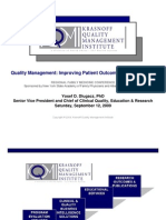 Quality Management-Improving Patient Outcomes the Smart Way_Dlugacz