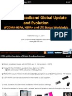 GSA Mobile Broadband Global Update May 2011