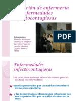 Atención de enfermería en enfermedades infectocontagiosas