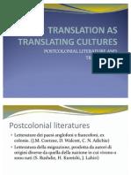 Translation as Translating Cultures Monica Valcavi
