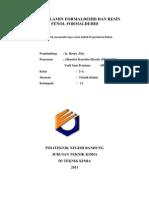 Makalah Resin Melamin Formaldehid Dan Resin Fenol Formaldehid