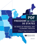 How Much  FREEDOMS Are There  In Each of The 50 States?