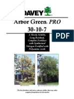 Davey Tree - Arbor Green PRO 30-10-7 Tree Fertilizer