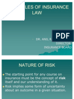 Principles of Insurance Law