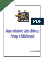 Indicadores de Pobreza Na Europa e Em Portugal