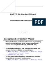 Sti05 Ansys 6.0 Contact Wizard