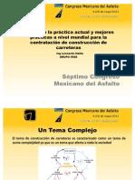 7 Congreso Mexicano Del Asfalto