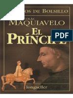 Maquiavelo Nicolas - El Principe