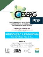 Introducao a Ergonomia Vidal CESERG[1]