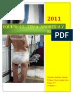 Bulimia y Anorexia Mich