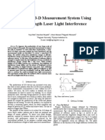3D Detection Using Laser