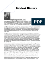 Soka Gakkai History