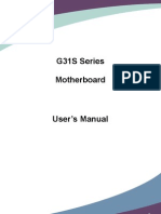 G31S Series Manual en V1.0