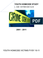 OUSD Youth Homicide Study 2011