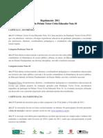 Professor Nota 10 Regulamento-2011