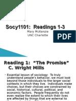 Socy1101 Readings1-3