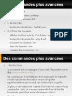 Des Commandes Plus Avancees Unix