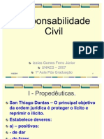 REsponsabilidade Civil 1ª aula UNAES_2007