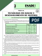 Prova - Análise e Desenvolvimento de Sistemas