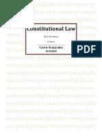 Constitutional Law ASSSSS