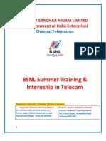 Information Brochere Summer Training